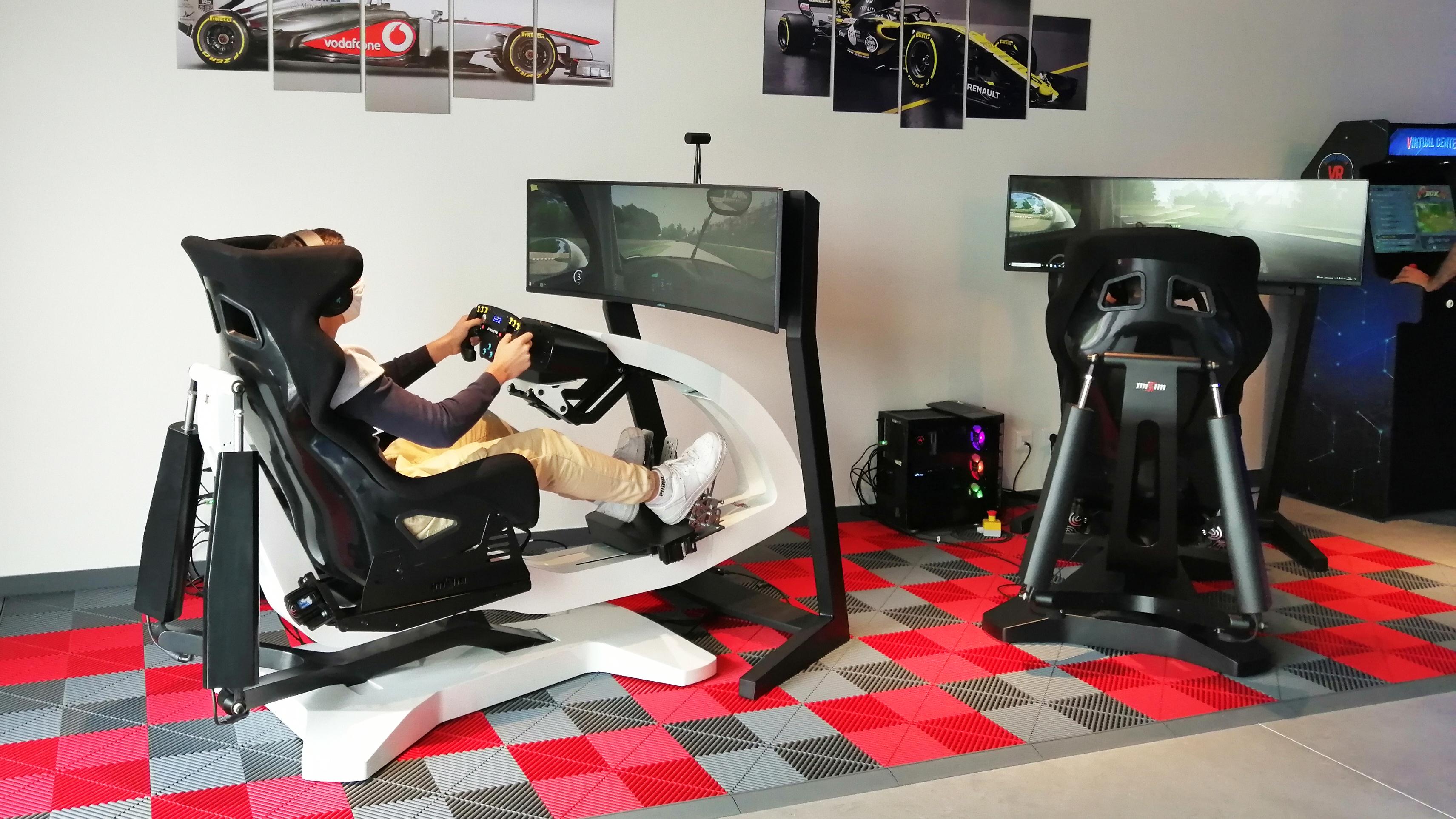 virtual center racing imsim